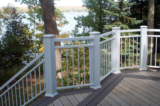 Double railing for your cottage