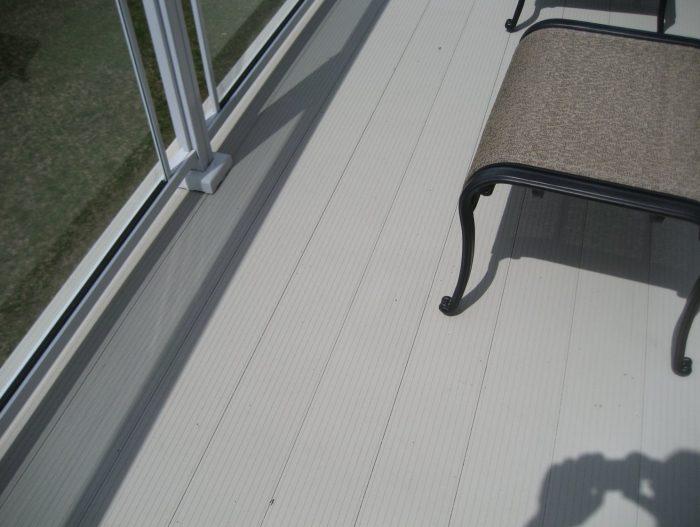 Aluminum metal decking maintenance free