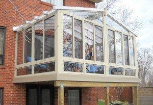 3 Season Sunroom with skyview roof