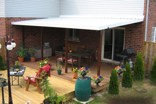 Patio Cover, Backyard design options