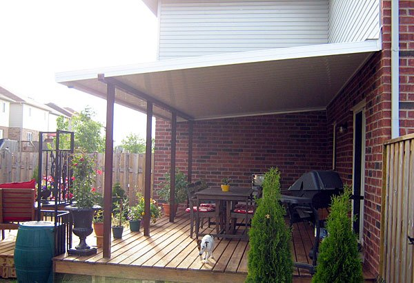 Patio Cover, Backyard design