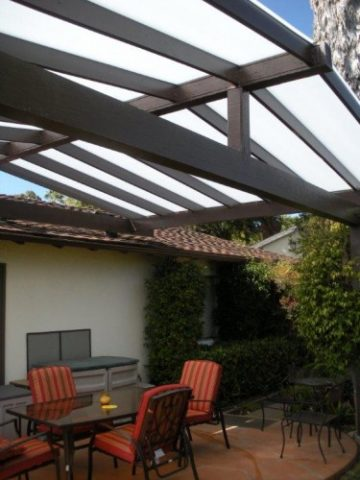 Attirant Patio Cover