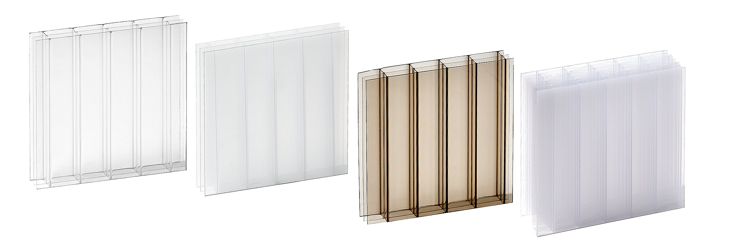Multiwall Polycarbonate Samples