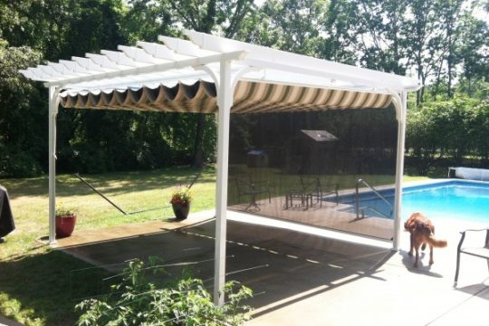 Retractable Canopy - Pergola Canopy