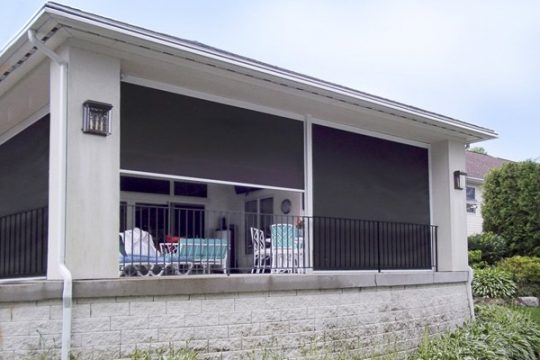 Keep the Bugs Out with Motorized Retractable Screens