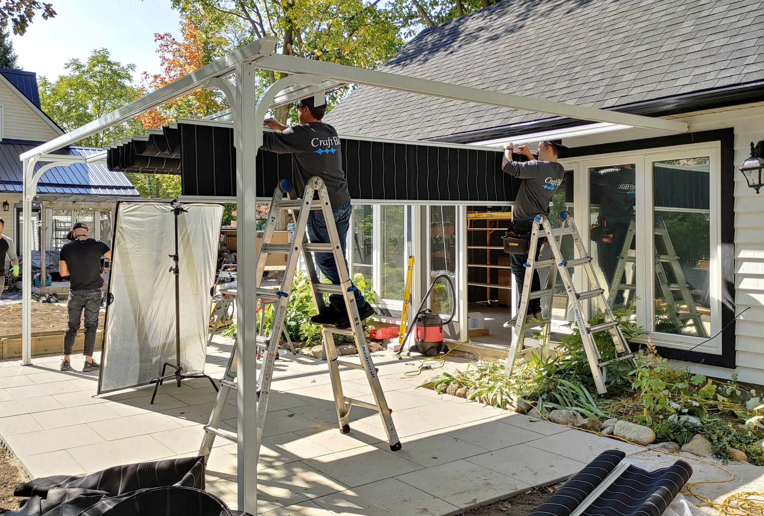 Retractable Canopy - HGTV