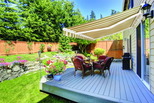 Retractable Awning - Patio