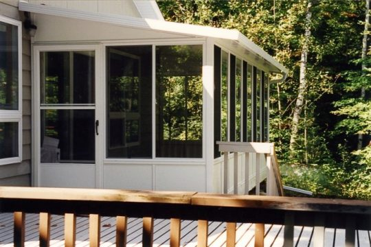 Studio Sunroom with vista windows