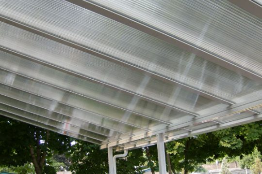 Clear Polycarbonate Roof