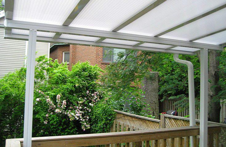 Aluminum-Polycarbonate roofing