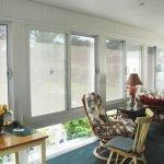 Solar Shade Inside Sunroom