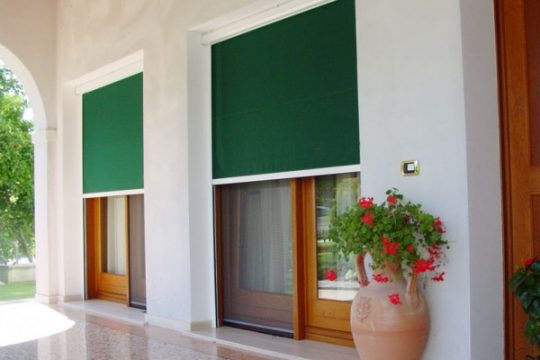 shade products for doors