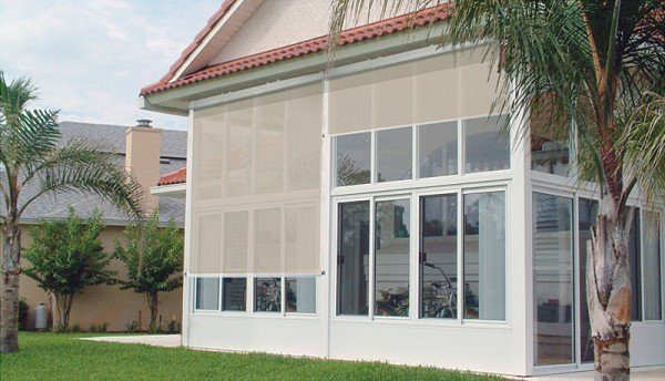 solar shades motorized