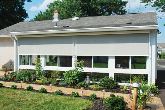 solar shades for your sunroom