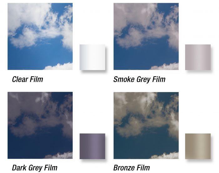Stacking Windows Vinyl Colours