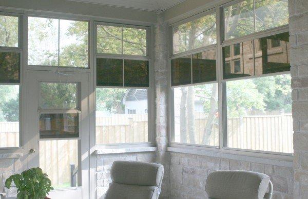 3 season room windows screened porch stacking vinyl track windows screened room three season porch craft bilt