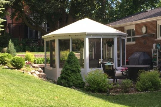 Free Standing Sunroom Maintenance Free Gazebo Aluminum