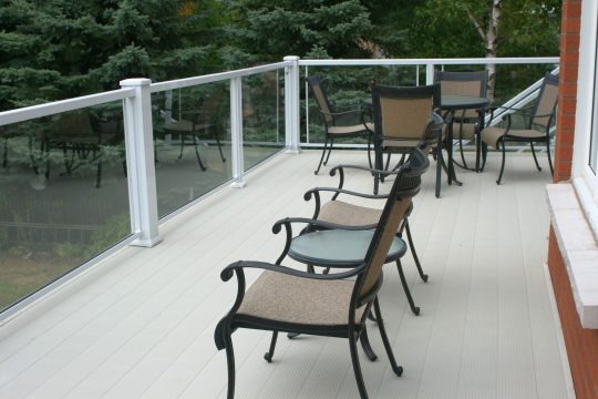 Waterproof Aluminum Decking