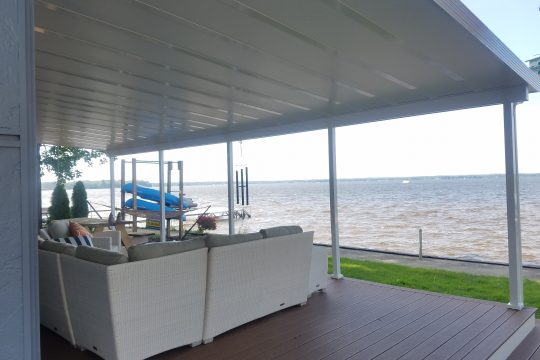 Patio Cover by the Lake