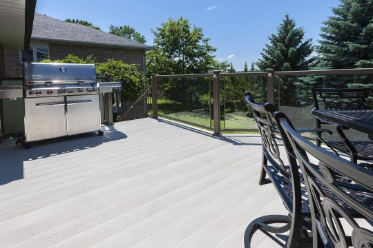 Aluminum Deck and Railing