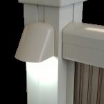 aluminum railing light