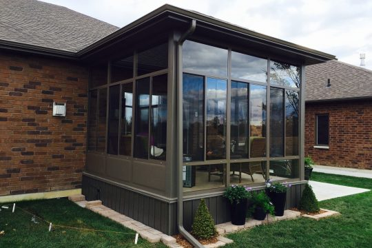 Porch Enclosure Glass