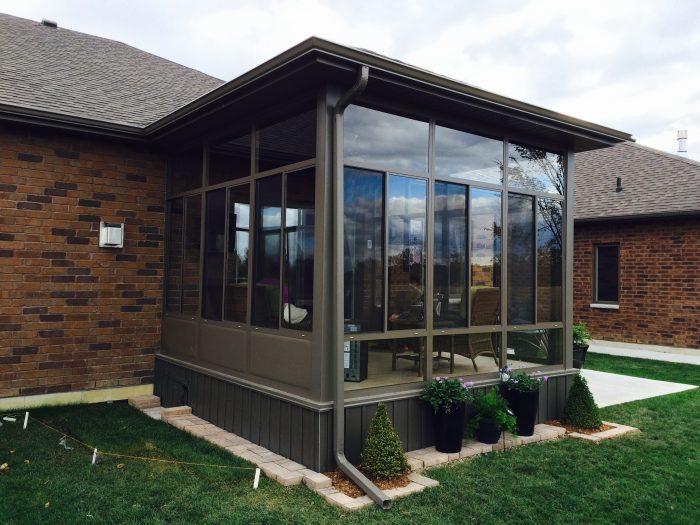 Porch Enclosure Glass