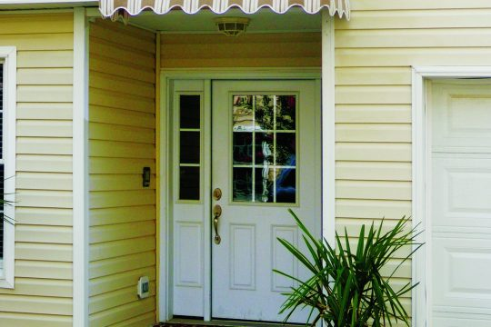 Front Door Fabric Awning