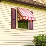 Window Fabric Awning