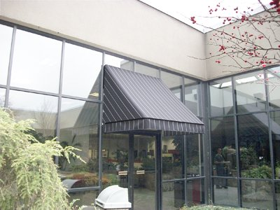 Commercial Doors Fabric Awning