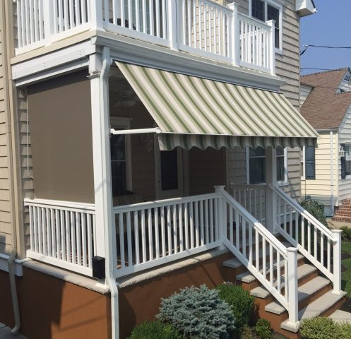 Shade and Awning For a Porch