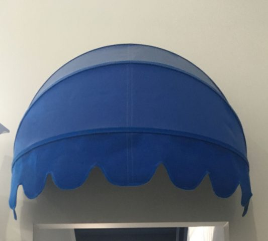 Round Fabric Awnings