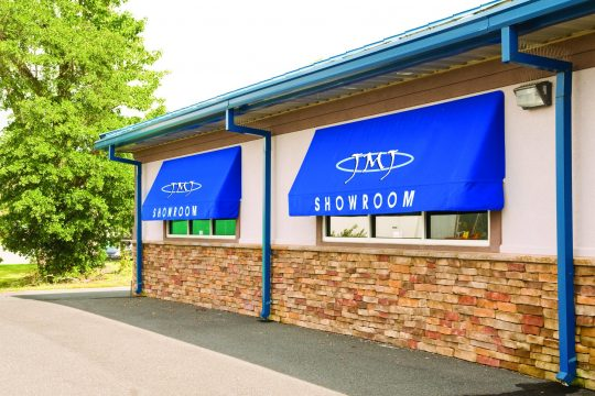 Commercial Windows Fabric Awning Retractable or Fixed