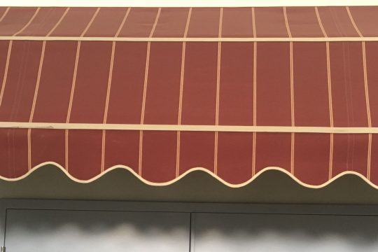 Basket Awning above Door