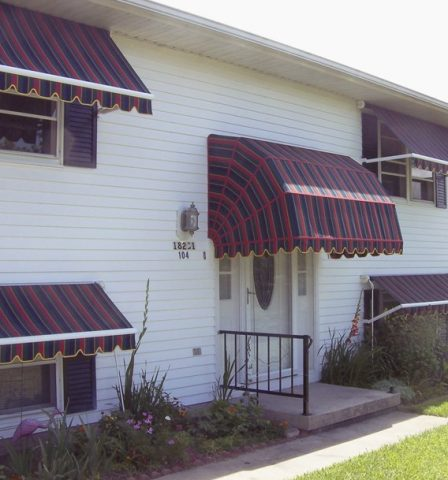 Windows Fabric Awning Retractable or Fixed