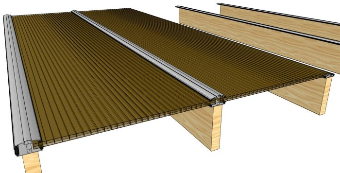 How to Install Polycarbonate Sheets on Wood Pergola