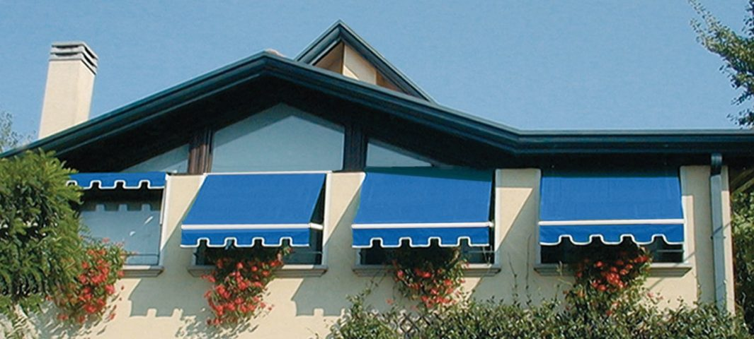 Window Fabric Awning Retractable or Fixed