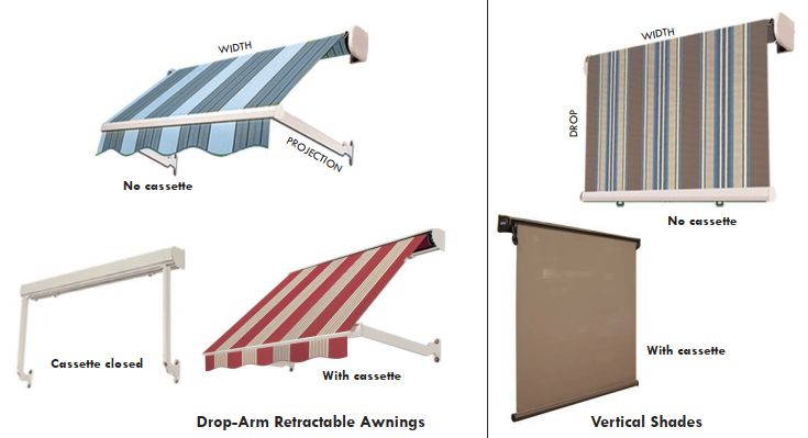 Windows Fabric Awnings