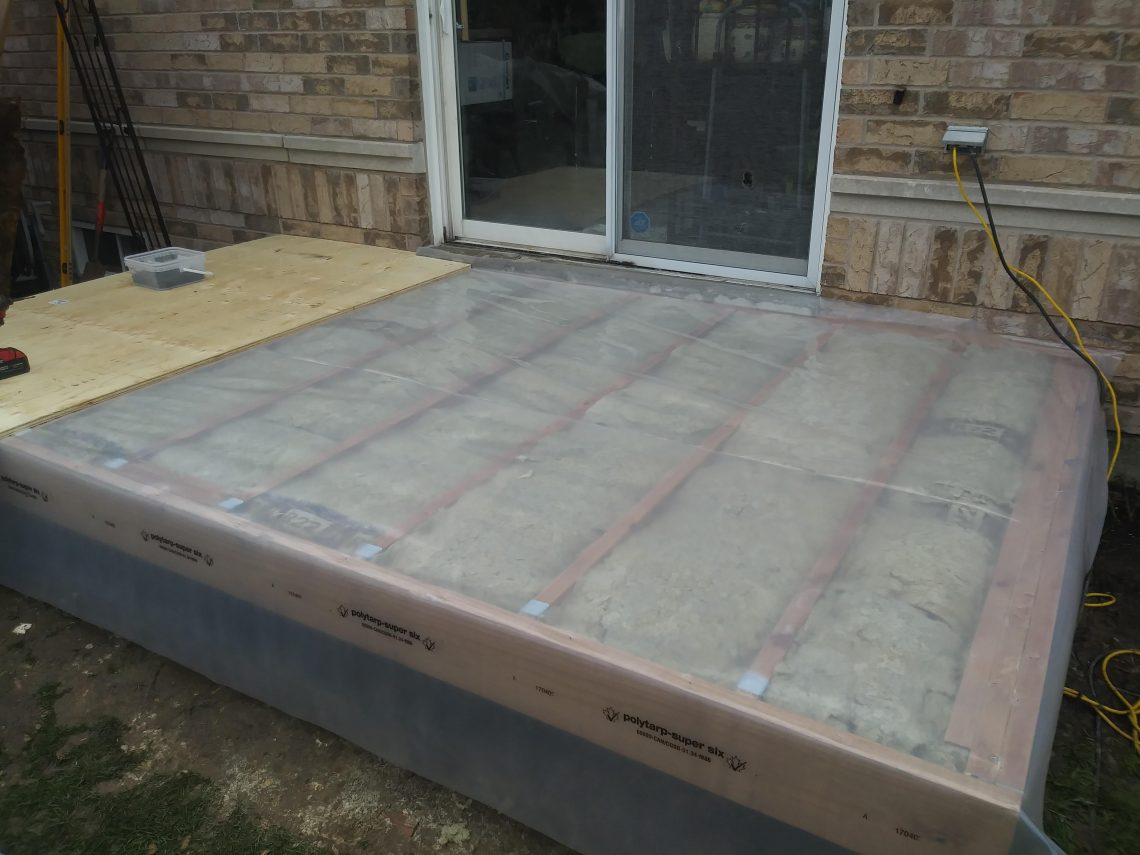 Insulating a Deck for Sunroom