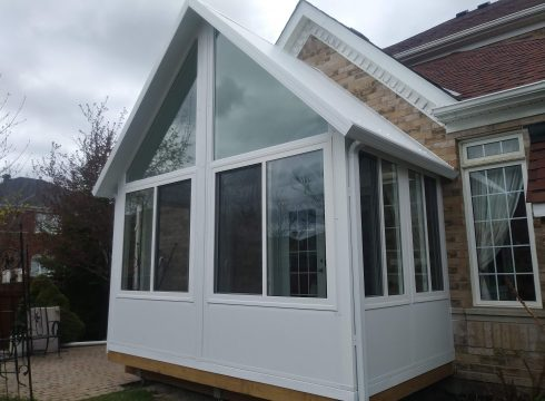 4 Season Sunroom Gable Sunroom