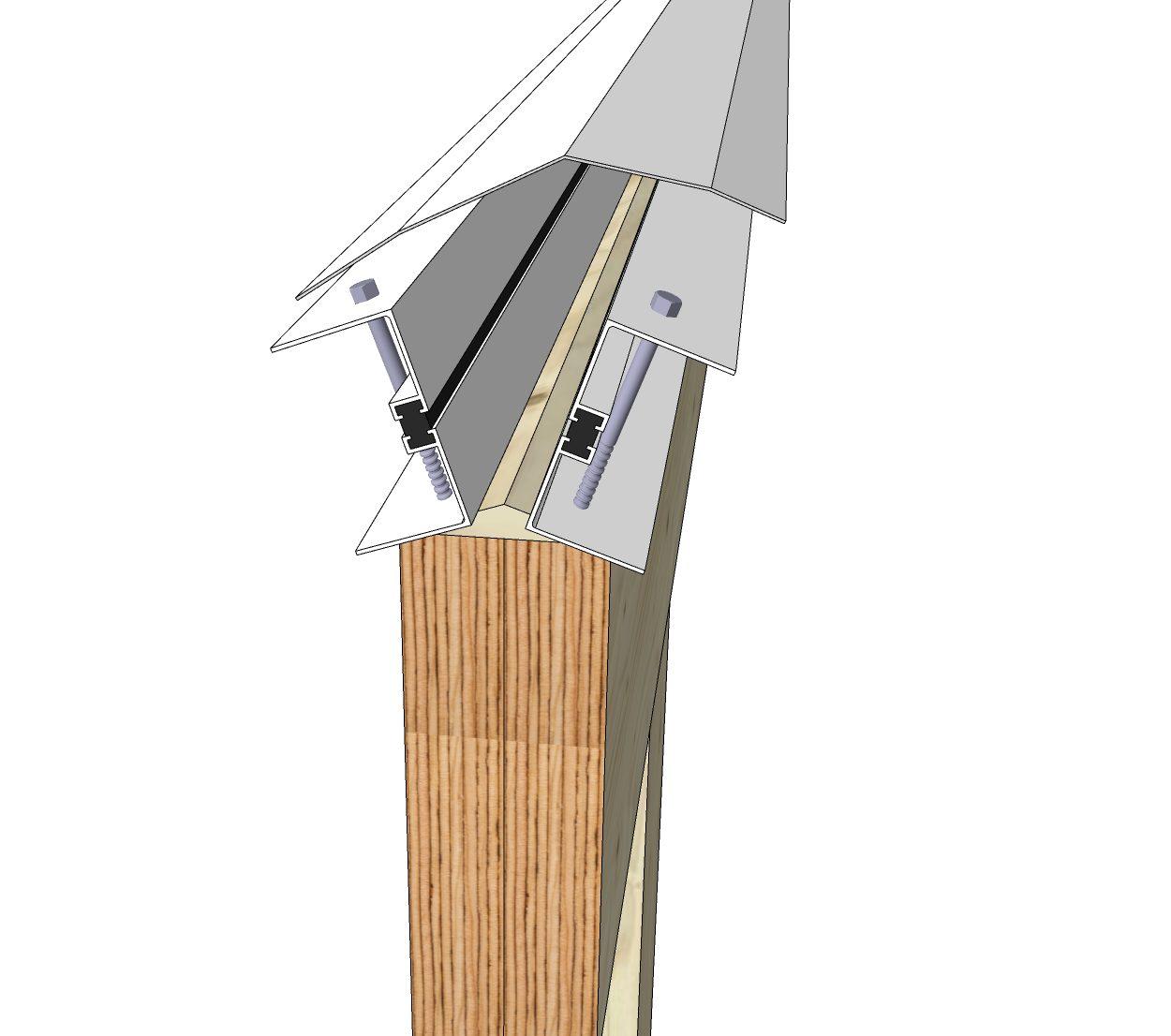 Sunroom Ridge Beam Connection-2