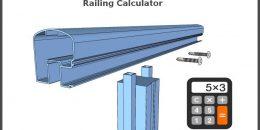 Aluminum Railing Cost Calculator